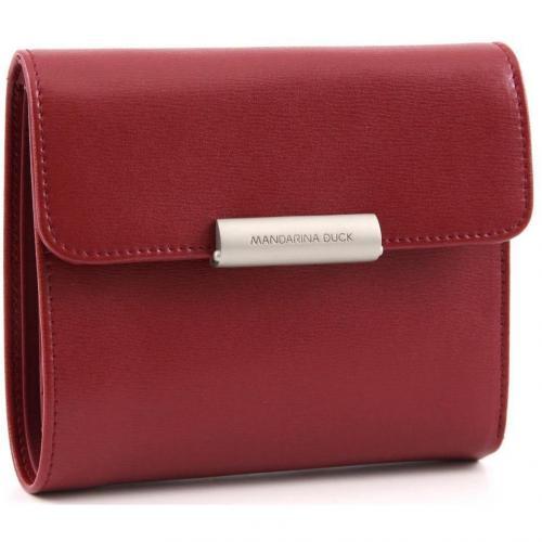 Hera Geldbörse Damen Leder rot 13,5 cm von Mandarina Duck