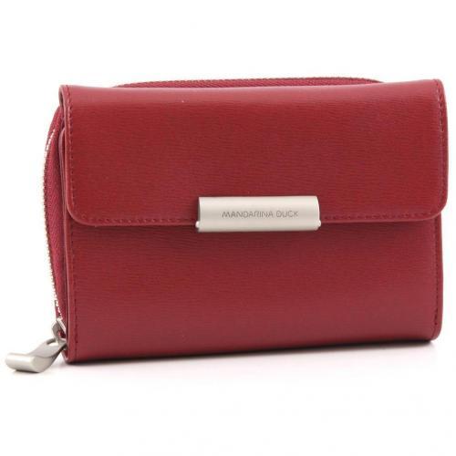 Hera Geldbörse Damen Leder rot 14 cm von Mandarina Duck