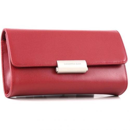 Hera Pouchette Leder rot 22 cm von Mandarina Duck