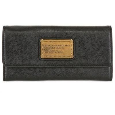 Classic Q Lange Dreifache Lederbrieftasche black von Marc By Marc Jacobs