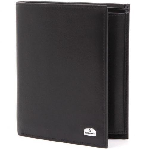 Ascona Edition Geldbörse Leder schwarz 12,3 cm von Offermann