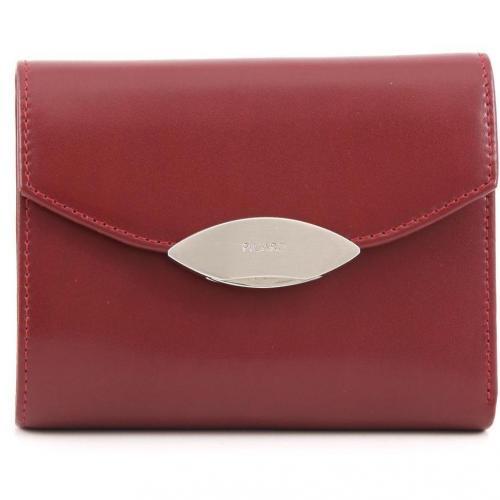 Basic Lounge Geldbörse Damen Leder rot 13 cm von Picard