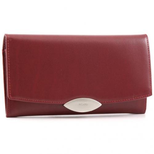 Basic Lounge Geldbörse Damen Leder rot 19 cm von Picard