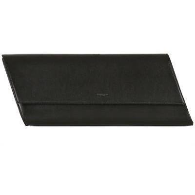 Diagonale Clutch aus Poliertem Leder von Saint Laurent
