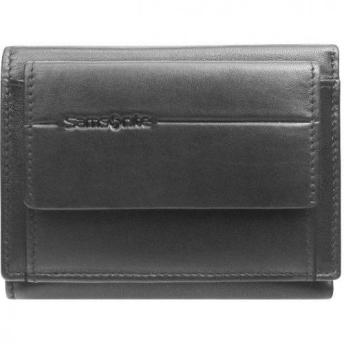 Brendon Geldbörse schwarz mit 3 Dokumentenfächern  von Samsonite