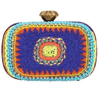 Summer Twist Eckige Clutch von Sarah'S Bag