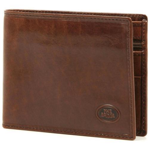 Geldbörse Leder braun 9,5 cm von The Bridge
