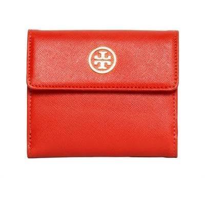 Saffiano Leder Kleine Brieftasche von Tory Burch