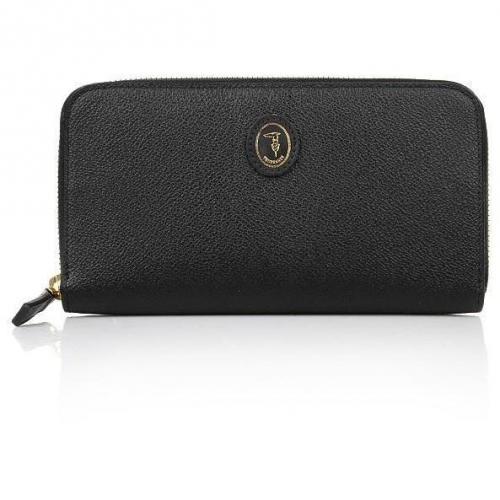 Portemonnaie Portafoglio Black von Trussardi