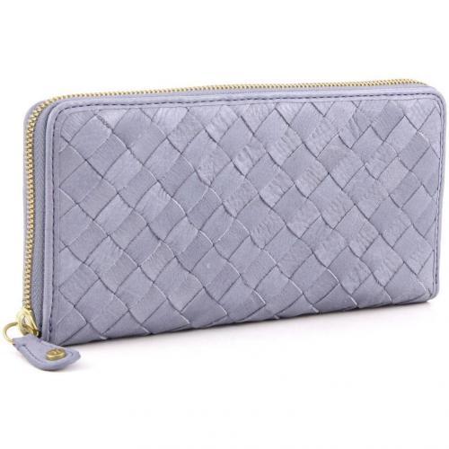 Melita 2 Geldbörse Damen Leder blau 20 cm von W Double You