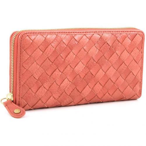 Melita 2 Geldbörse Damen Leder orange 20 cm von W Double You