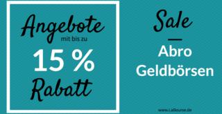 Abro Geldbörsen Sale